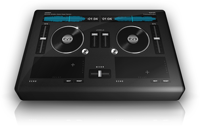 Virtual Turntables IN YOUR BROWSER